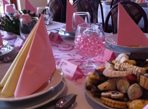 Aranybánya Hotel Telkibánya - Esküvői teríték