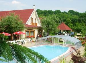 Aranybánya Hotel Telkibánya - Kültéri medence