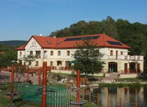 Aranybánya Hotel Telkibánya - A Kalandpark felől